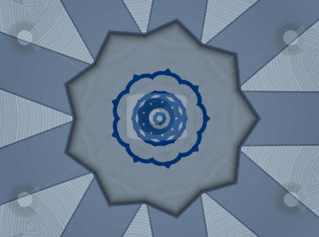 Greek Country Mandala  stock photo, Greek Country Mandala , background pattern. by Dazz Lee Photography