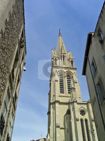 Cathedral in Montpellier France stock photo, Cathedral in Montpellier France by Jaime Pharr