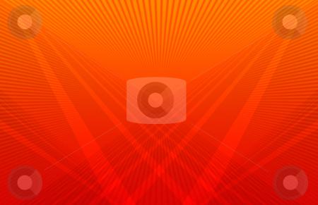 Futuristic Orange Background stock photo, Computer generated background pattern orange colors by iodrakon
