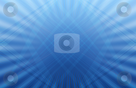 Futuristic Blue Background stock photo, Computer generated background pattern shades of blue by iodrakon