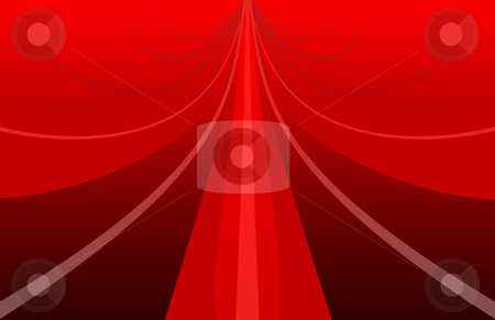 Close up of red bow stock photo, Closeup of red bow -ideal background for the holidays by iodrakon