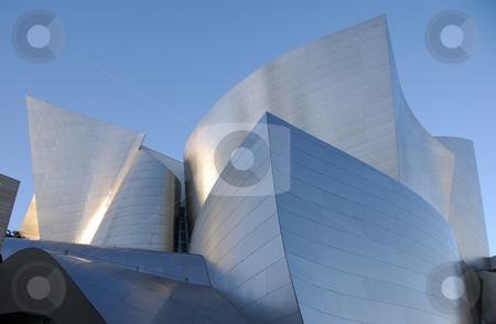 Walt Disney Concert Hall stock photo,  by Didier Tais