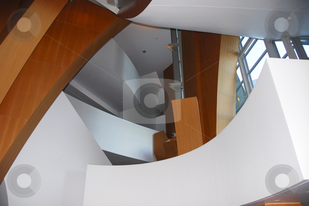 Disney Concert Hall interior stock photo,  by Didier Tais