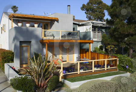 Modern House in Venice stock photo,  by Didier Tais