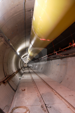 The tunnel stock photo,  by Piero Biondo