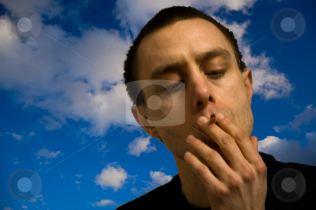 No smoking stock photo,  by Piero Biondo