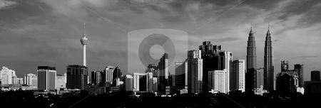 Kuala Lumpur Cityscape stock photo, Kuala Lumpur Cityscape by Jaggat Images