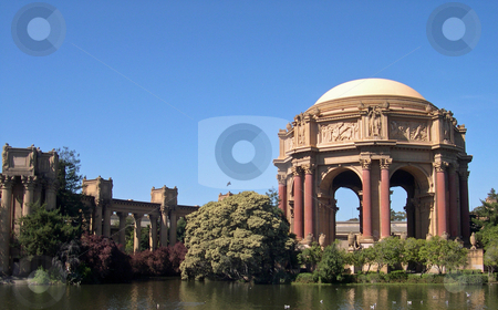 San Francisco Palace of Fine Arts stock photo, Palace of Fine Arts in San Francisco California by Jaime Pharr