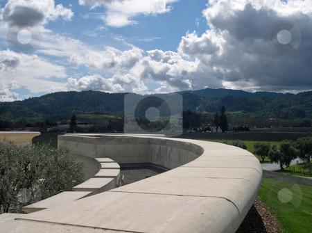 Opus One vineyard stock photo, View of Opus One vineyard by Jaime Pharr