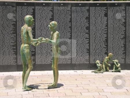 Holocaust memorial in Miami Beach Florida stock photo, Holocaust memorial in Miami Beach Florida by Jaime Pharr