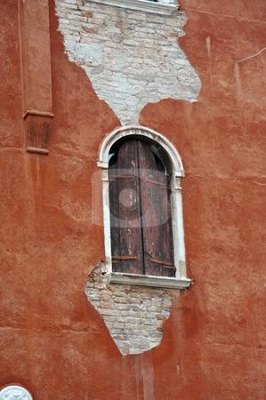 Shuttered window stock photo, Shuttered window in Venice, Italy by Jaime Pharr