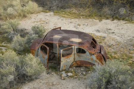 Rusty Old Car stock photo,  by Didier Tais