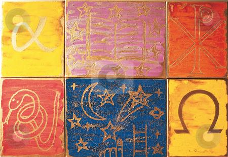 Mandala stock photo, Painting by Natacha Audier