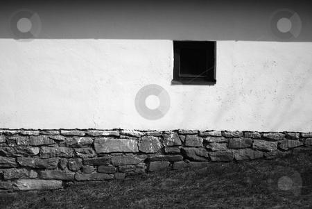 House stock photo, Detail of a cottage by Sarka