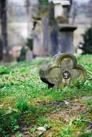 Old grave stock photo,  by Sarka