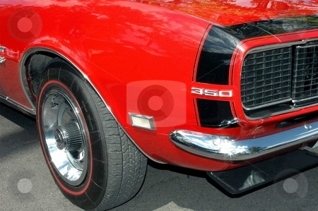68 Camaro RS/SS Front Corner stock photo, This is a great red Camaro. by Joe Shortridge