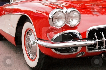 59 Corvette Front Corner  stock photo, This is an American Classic. by Joe Shortridge