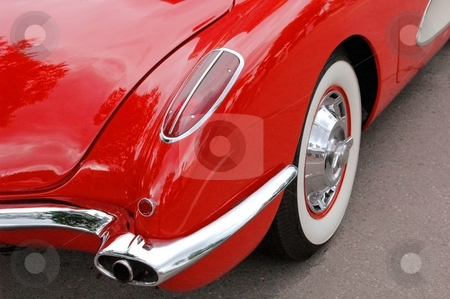 59 Corvette Rear Corner  stock photo, This is an American Classic. by Joe Shortridge