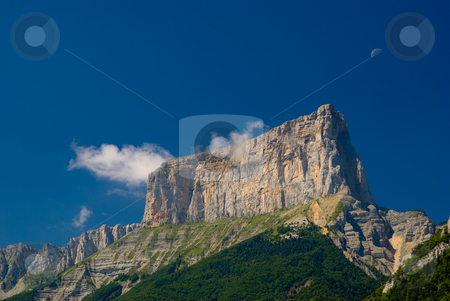 Franz?sische Alpen - Alps in France stock photo, S?dlich von Grnoble - South of Grenoble by Wolfgang Heidasch