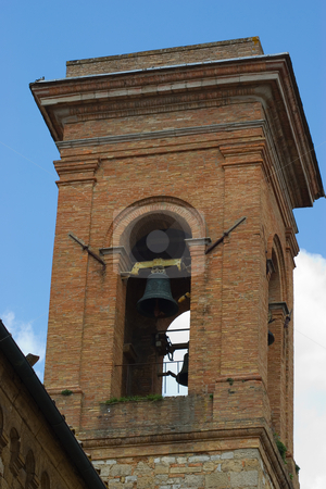 Glockenturm in der Toskana - Bell tower in tuscany stock photo, Glockenturm in der Toskana - Bell tower in tuscany by Wolfgang Heidasch