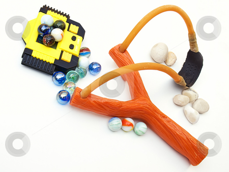 Boys toys stock photo, Once favorite boys  toys on a clear background. by Sinisa Botas