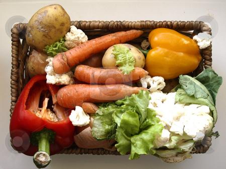 Vegetables stock photo, Different vegetables by Lars Kastilan