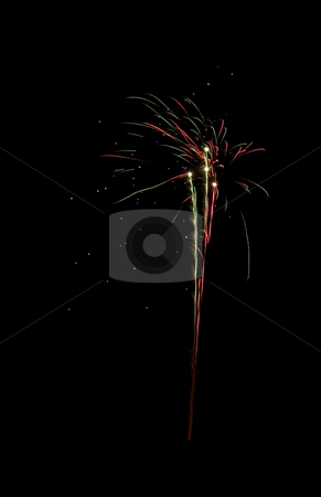 Celebration firework stock photo, Image of an explosion of a firework during a celebration by Ivan Montero