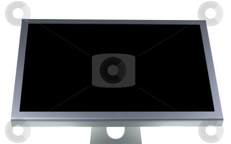 Lcd monitor flat screen stock photo, Computer lcd or tft monitor with flat screen by Ivan Montero