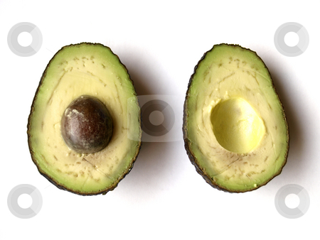 Avocado stock photo, An open avocado by Lars Kastilan