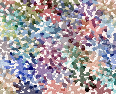 Colorful mosaic pattern stock photo, Abstract texture of colorful and white mosaic tiles by Wino Evertz
