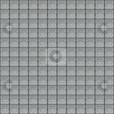Grunge grey stones pattern stock photo, Seamless texture of dirty grey square blocks by Wino Evertz