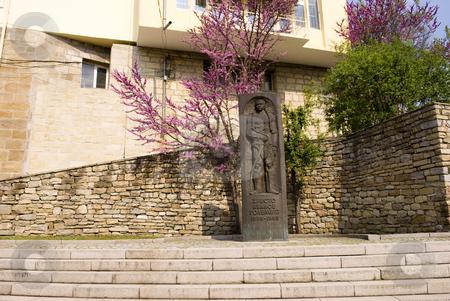 Monument stock photo, Monument of Hristo Ivanov Golemiyat - Veliko Turnovo Bulgaria by Desislava Dimitrova