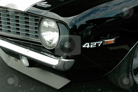 Z28 Front Corner Black stock photo, This is a great crisp photo showing a great paint job. by Joe Shortridge