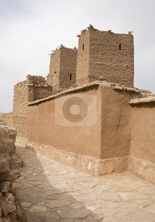 Berber Village stock photo, Part of a fortified village, Kingdom of Morocco, North Africa by mdphot