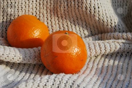 Two mandarins stock photo,  by Leyla Akhundova