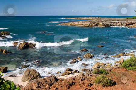 Shark's Cove stock photo, Shark's Cove, one of the many scenic stops along Oahu's famous North Shore. by Rick Parsons