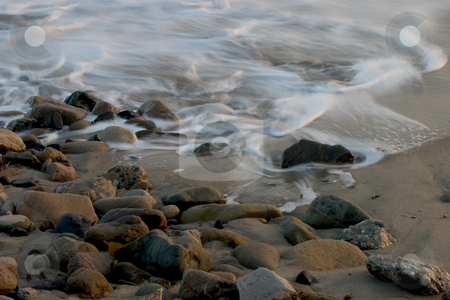 Ocean Tides II stock photo, Point Mugu State Park by Rick Parsons