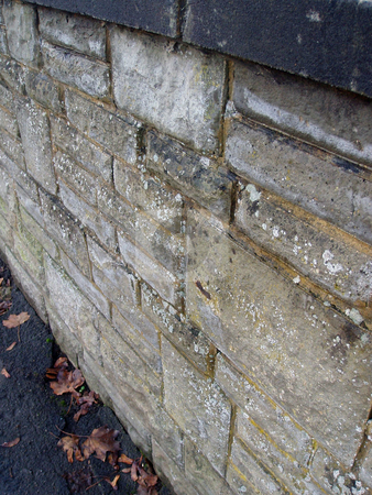 Old stone wall stock photo, Old stone wall in England by Jaime Pharr
