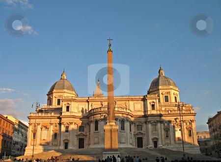 Roma Santa Maria Maggiore stock photo, Basilica Santa Maria Maggiore - Rome/Roma by Roberto Marinello