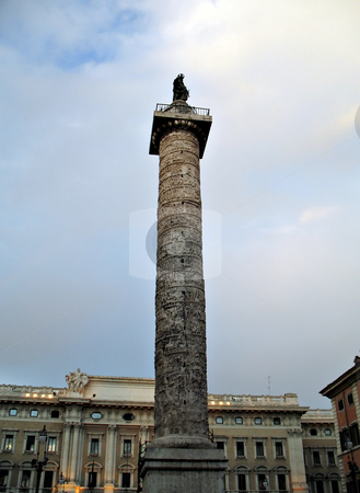 Roma Piazza Colonna stock photo, Piazza Colonna - Roma/Rome by Roberto Marinello