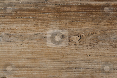 Wooden Texture stock photo, An old wooden texture with grains of sand in the cracks found at the sea shore. by Todd Arena