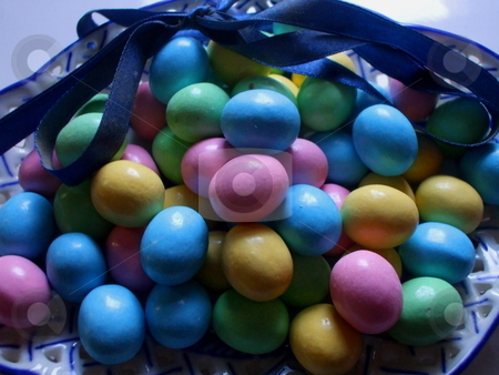 Easter Eggs stock photo,  by Michael Felix