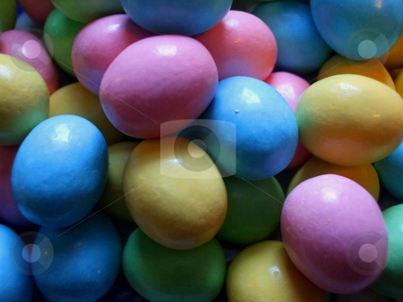 Easter Eggs stock photo,  by Michael Felix