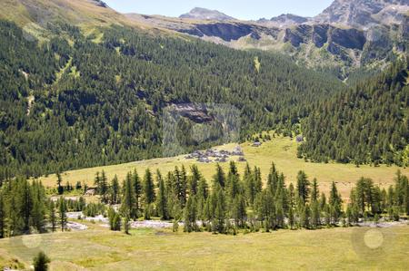 Alpine natural park stock photo, Alpe Veglia italian natural park, Piemonte, Italy by Roberto Marinello