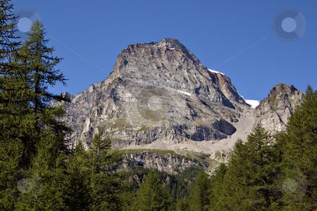 Monte Leone stock photo, Monte Leone view from Alpe Veglia italian natural park, Piemonte, Italy by Roberto Marinello