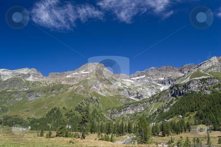 Alpe Veglia natural park stock photo,