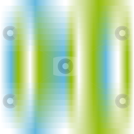 Abstract background stock vector clipart, Abstract background in green white and blue by Karin Claus