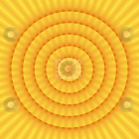 Sun mandala pattern stock photo, Texture of mandala like sun with soft rays by Wino Evertz