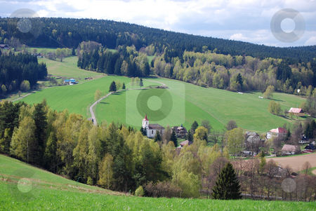 Czech landscape stock photo, A picture from the czech countryside by Sarka