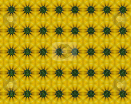 Fiield of Sunflowers stock photo, Gold and yelllow abstract resembles rows of sunflowers by Sandra Fann